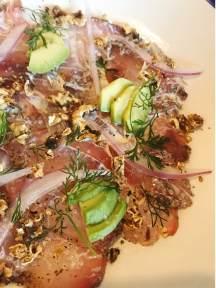 a light fish dish