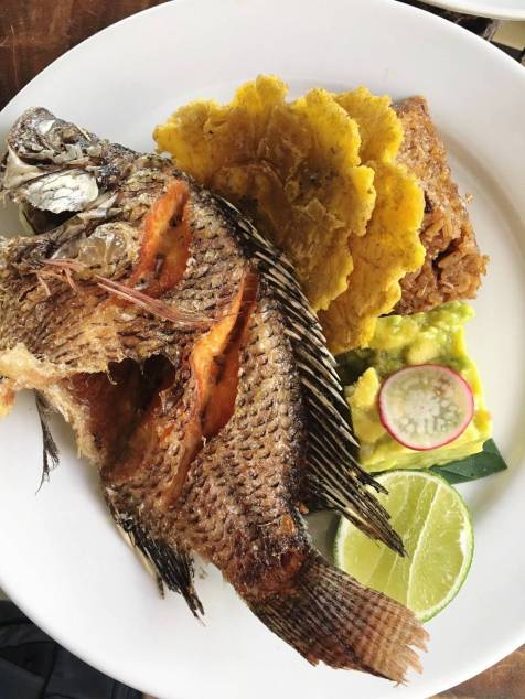 La Mulata - Fried whole fish