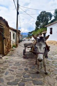 The streets of Villa De Leyva