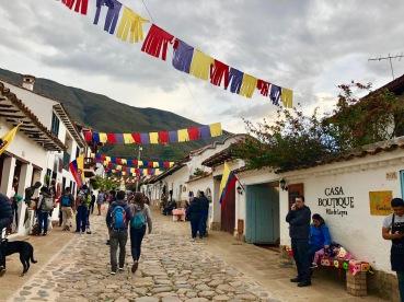 Streets of Villa de Leyva (Nina & Timo)