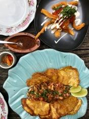 Stingray Ceviche & Locally produced spices