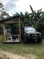 Our campsite at La Bicok Lodge