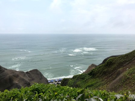 The coastal waters near Lima