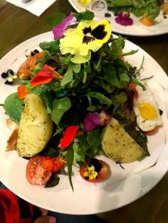 Our starter salad